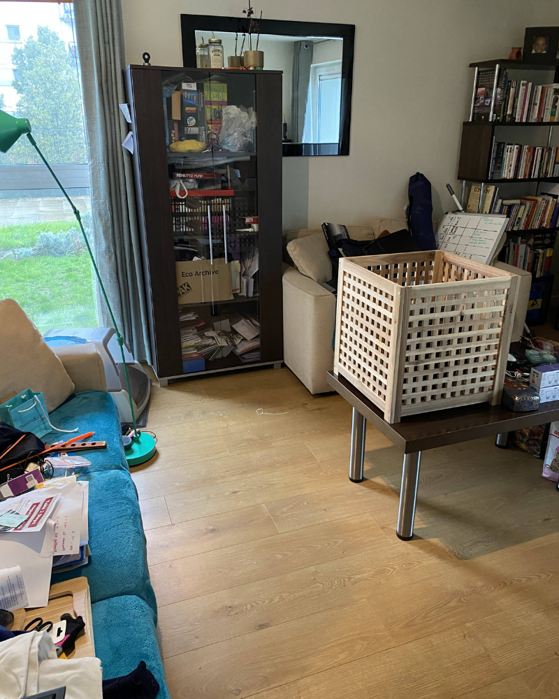 Before & After Clutter Countdown