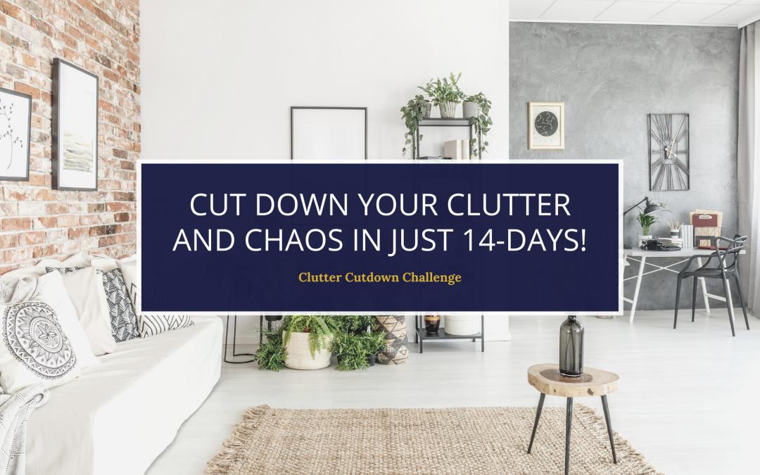 14-Day Spring Clutter Cutdown Challenge